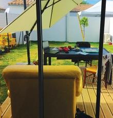Logement social avec Jardoin, résidence Les Breuils à Rivedoux (île de Ré)