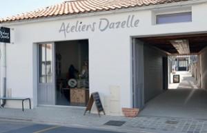Les Ateliers Dazelle à l'entrée de la Noue sur le cours des Tilleuls (Ste Marie, île de Ré), viennent d'ouvrir, à l'occasion du WE de Pâques