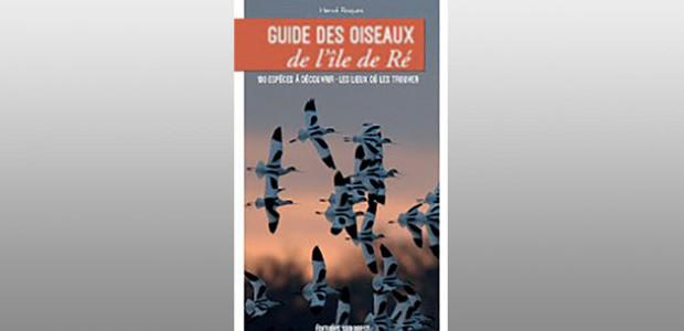 LivreGuide des oiseaux de l'île de Ré d'Hervé Roques