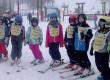 Les petits de Sainte-Marie sur les pistes de ski !