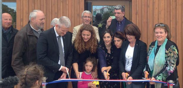 Inauguration de la nouvelle crèche centre multi accueil Les P'tits Drôles à Ste Marie de Ré