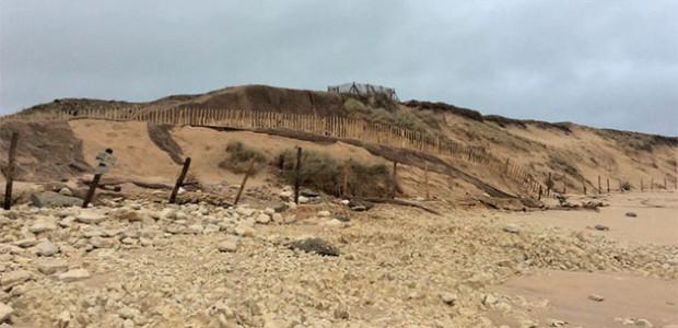 Etat des dunes sur l'île de Ré et défense du littoral