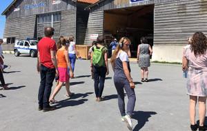 Happy Manif : création unique sur le Port d'Ars