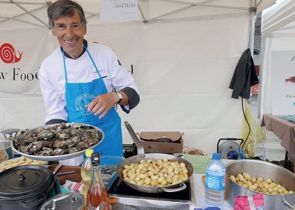 Le Chef Daniel Massé, fervent ambassadeur des produits du terroir rétais, sera présent aux Régalades