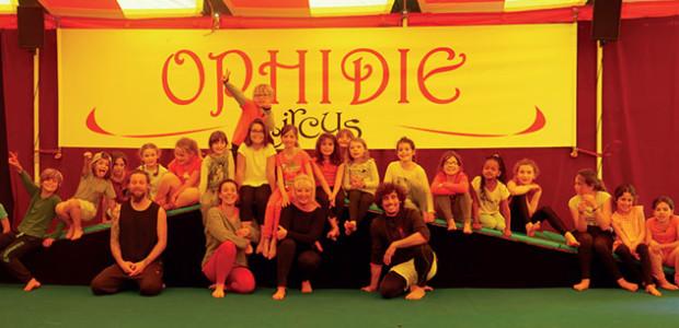 Stage enfants à Ophidie Circus