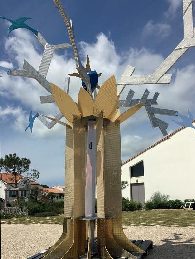 L'Arbre de Pierre Debien, festival M'l'art, île de Ré
