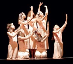 Chorégraphies, costumes et spectacle de Contempore Danse, île de Ré