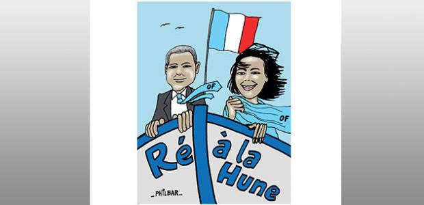 Débat entre les candidats Olivier Falorni et Otilia Ferreira sur la circonscription La Rochelle - Ré