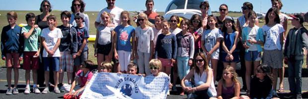 Journée aéronautique avec « Les Drôles de Maritais »