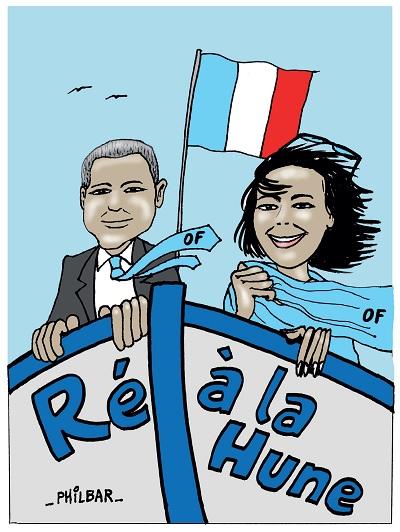 Olivier Falorni - Otilia Ferreira : débat sur les programmes dans le cadre des élections législatives 2017