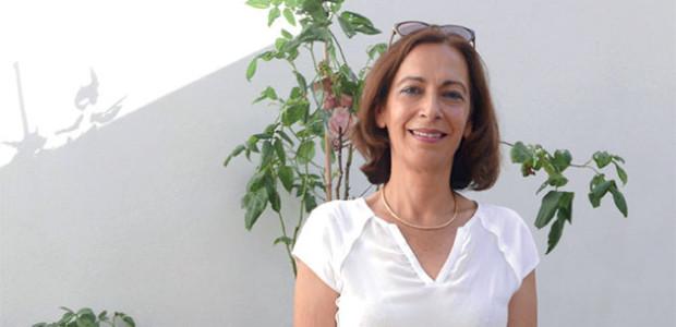 Otilia Ferreira tient un meeting à La Rochelle le 15 juin 2017