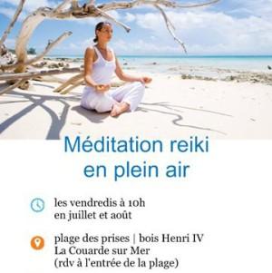 Méditation Reiki en plein air