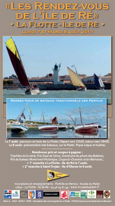 affiche des Rendez-vous de l'île de Ré à la Flotte