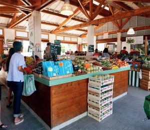halle du marché de Loix - Ile de Ré