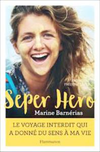 couverture de l'oeuvre Seper Hero pour le salon L'Ile aux livres de l'Ile de Ré