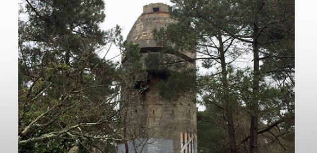 tour de direction de tir de Karola - Ile de Ré