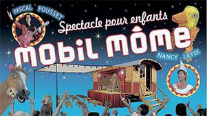 affiche spectacle pour enfants Mobil'môme à la Couarde- Ile de Ré
