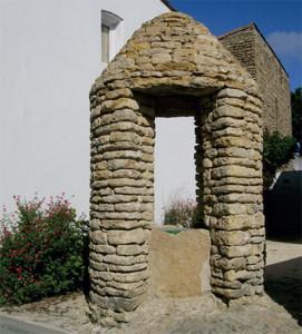 Le puits double des Portes