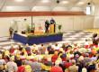 Salle du Godinand : une inauguration sur fond rouge
