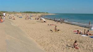La plage Montamer : le QG familial