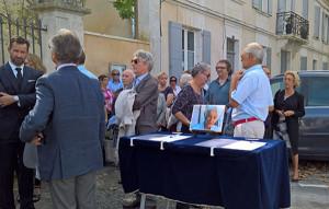 La famille et les proches lui rendaient un hommage émouvant jeudi 28 septembre au temple de Saint-Martin.