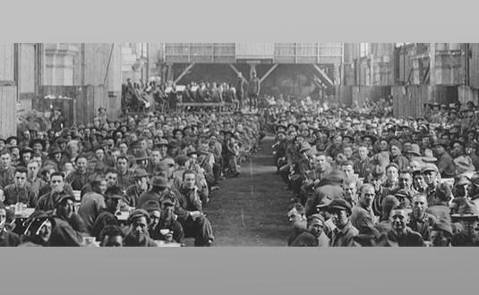 En 1917, les Américains débarquaient à La Rochelle