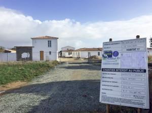Le chantier des 19 logements sociaux de La Maladrerie 1