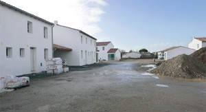 Le chantier des logements du Hameau de Rochefort, au Bois-Plage, avance bien