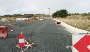 La seconde tranche de travaux sur le site des Baleines, les accès et les parkings seront livrés au printemps 2018