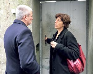 Sylvie Manaud accueille le député