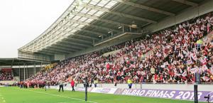 Dans les tribunes, avant le match !