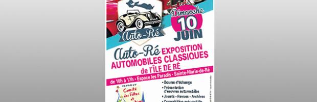 Auto-Ré, exposition d'automobiles anciennes, d'oeuvres d'art et bourse d'échanges