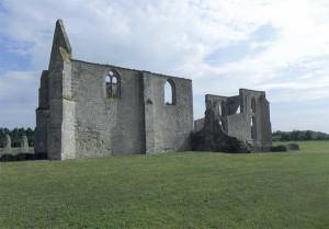 Les vestiges de l'Abbaye des Châteliers sont très visités