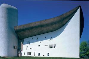 La Chapelle Notre Dame de Ronchamp par Le Corbusier