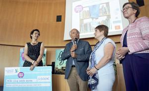 La remise des prix a été présidée par Michel Parent