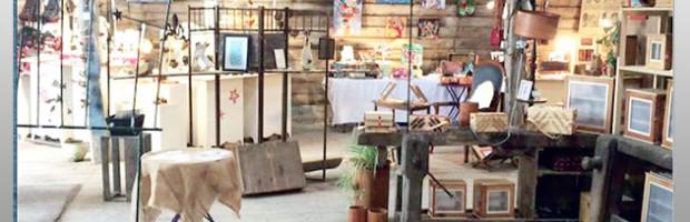 Exposition d'artisanat d'art au hangar à sel