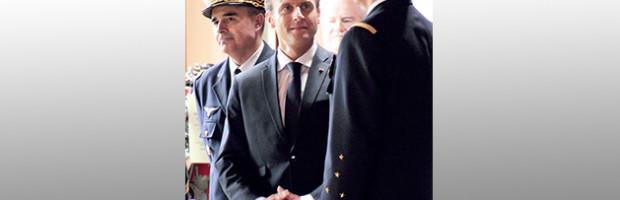 Le Président Macron, Stéphane Bern et Françoise Nyssen en visite en Charente-Maritime