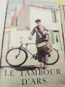 Marcel Goumard, en couverture fut le dernier tambour de ville