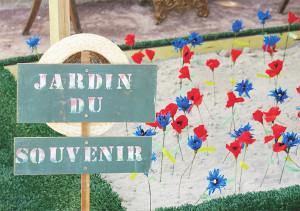 Le Jardin du souvenir.