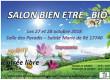 Le club de basket de Sainte Marie de Ré, organise son premier salon « Bien être – Bio »