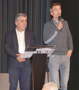 Au côté de Bruno Noury, Samuel Legoff, chargé de mission transition énergétique « Yeu 2030 », va rejoindre l'île d'Oléron.