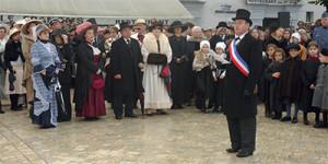 Léon Gendre en maître de cérémonie