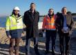 Un chantier de digue exemplaire, au centre de Rivedoux-Plage