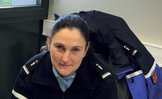 Marie Felter, une femme aux commandes de la Gendarmerie martinaise