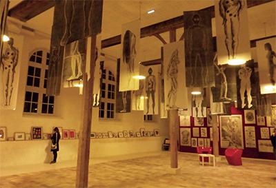 L'exposition Rétine, rêve, réveil de Katie Couprie a été installée à la CdC du 6 au 18 novembre.