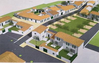 Grâce à l'acquisition des trois dernières parcelles la construction du programme des logements sociaux de la Maladrerie se poursuit.
