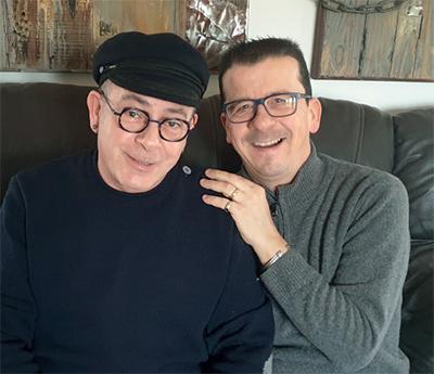Fred et Jean-François