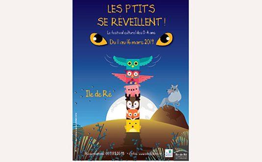 Attention, en mars les P'tits se réveillent sur l'île de Ré !