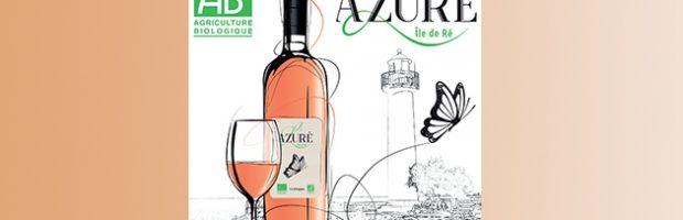 Azuré, le premier vin biologique, certifié AB, de l'Île de Ré