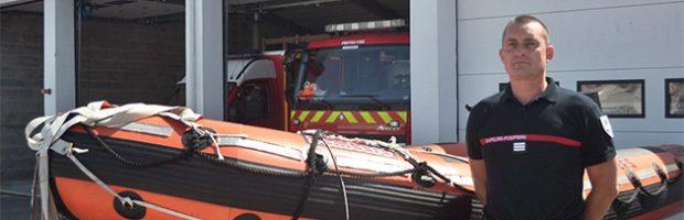 « L'arrivée des sapeurs-pompiers professionnels à la caserne de Saint-Martin-de-Ré était très attendue »